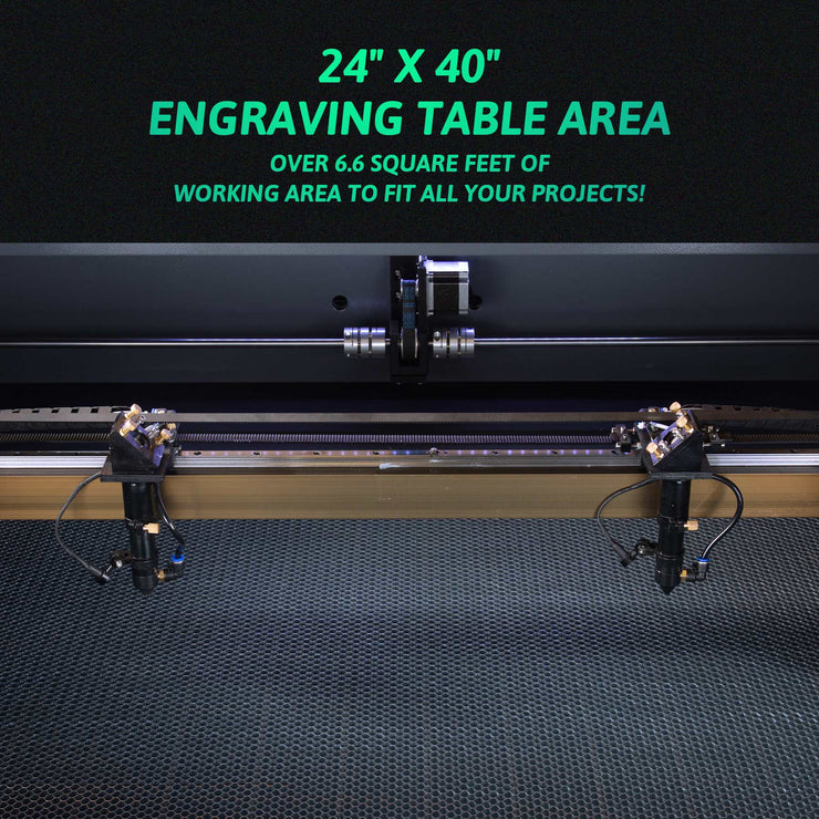 CO2 Laser Engraver Cutting Machine Dimensions Picture