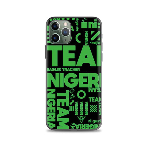 Nigeria iPhone Case