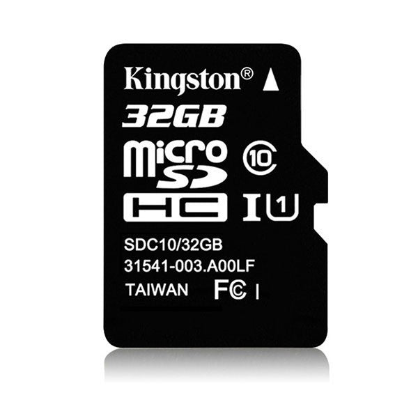 Kingston Micro SD 32Gt -muistikortti Class 10