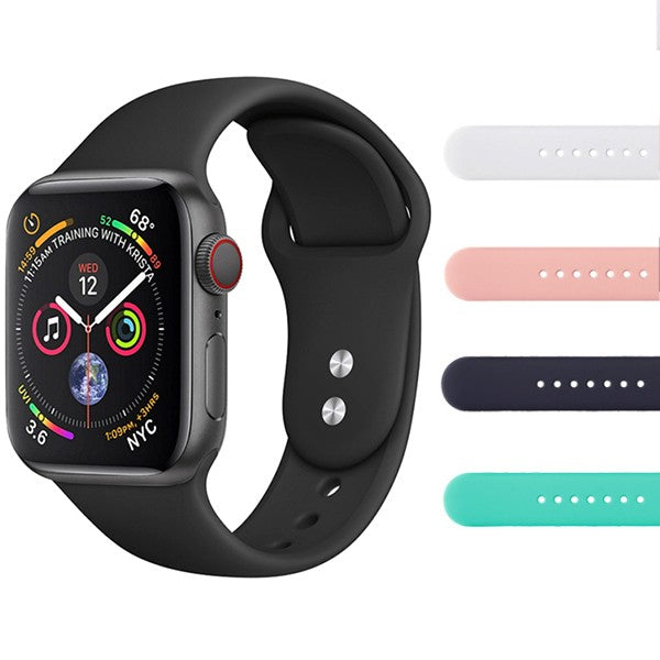 Apple Watch 4 silikoniranneke