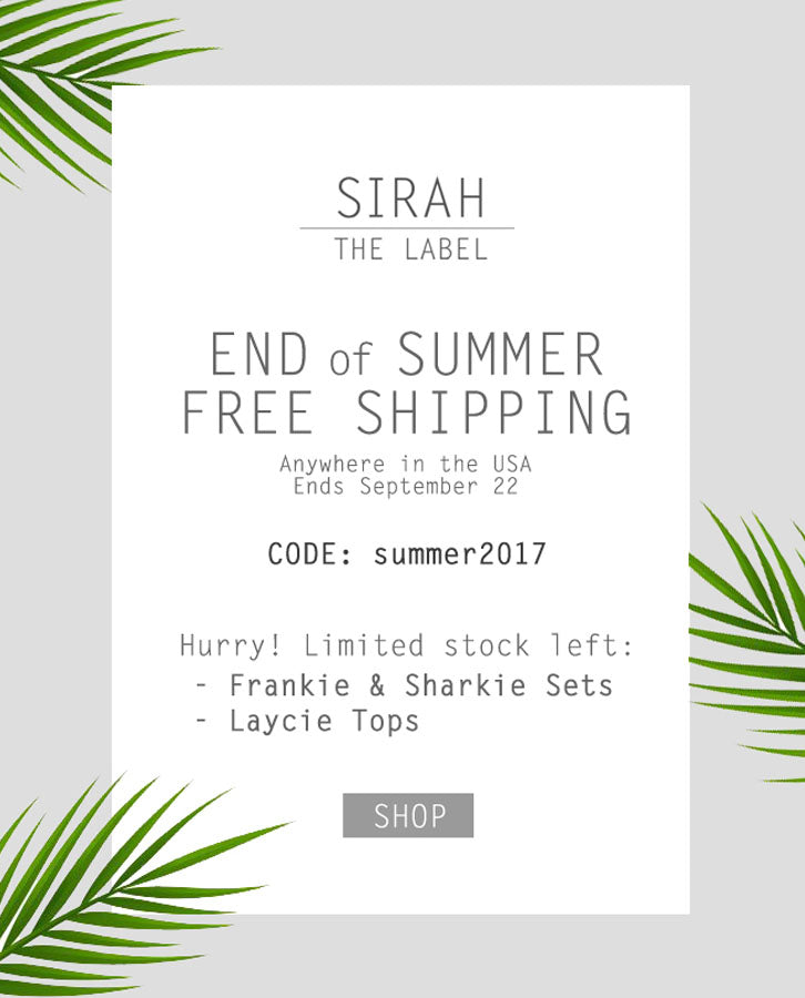 End of Summer Sale and Promo Advertising