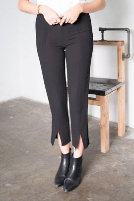 Hemmy Trousers - Black Crepe