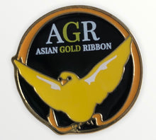 Load image into Gallery viewer, Asian Gold Ribbon Pins