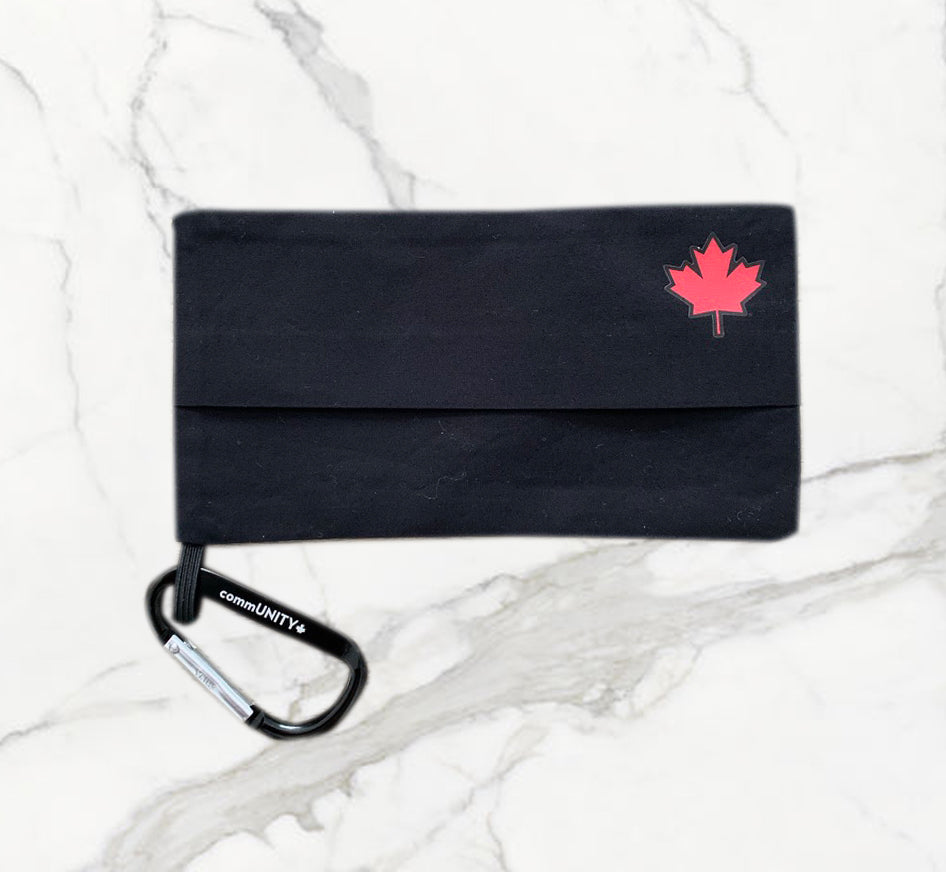 Maple Leaf Holder Black