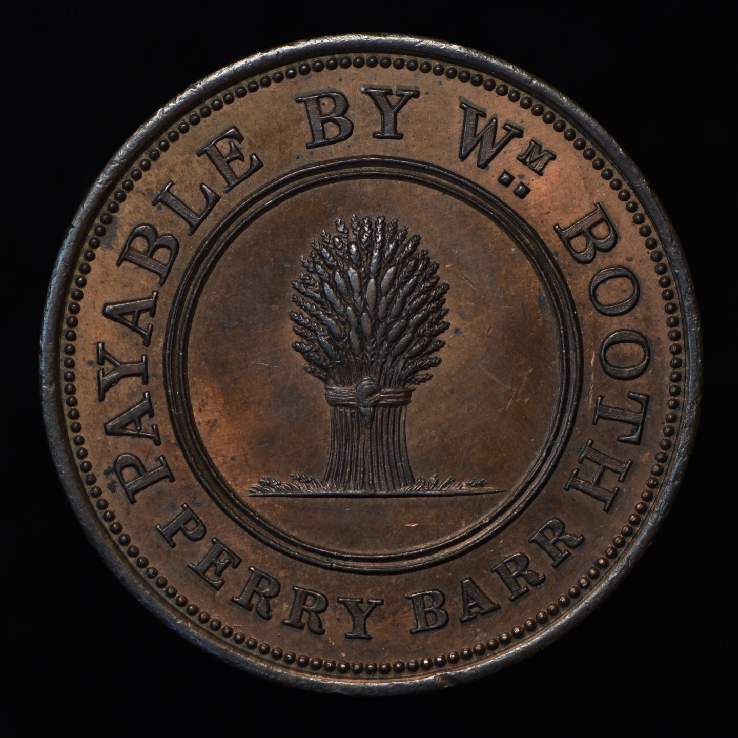 William Booth Penny (W. 956)