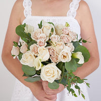 Bridal bouquet and boutonniere set