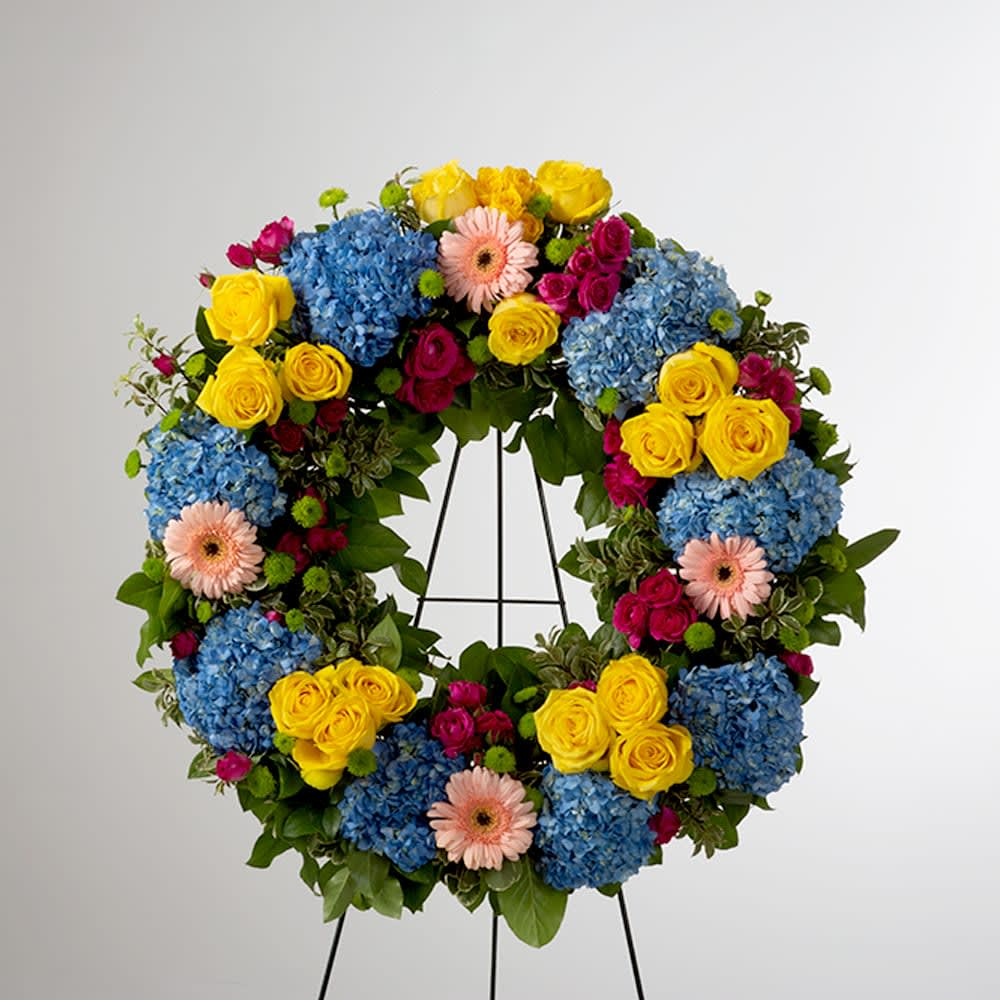Endless love wreath