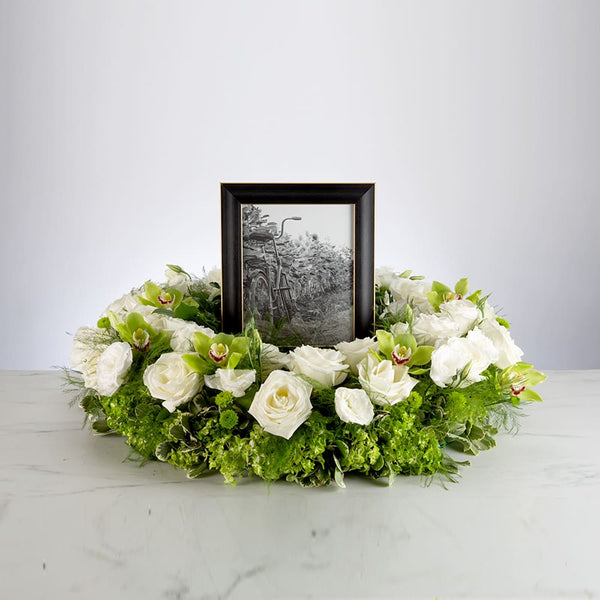 Frame flower decor