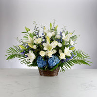 Healing tears basket arrangement