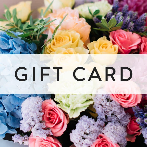 Roots and blooms flower shop gift card