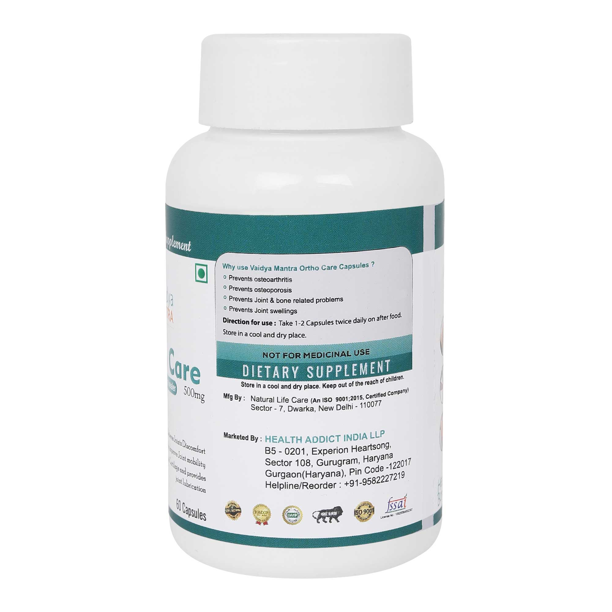 Joint Pain Capsules (Ortho Capsules)
