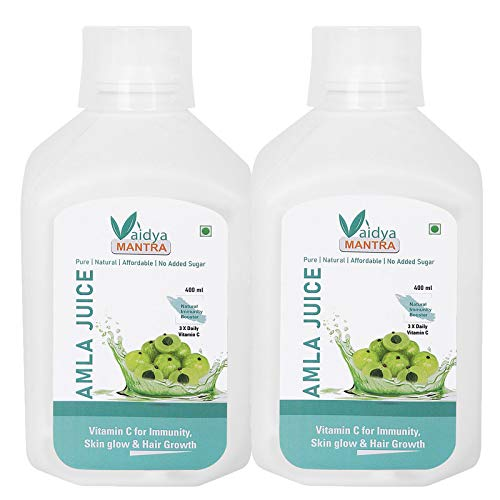 Vaidya MANTRA Amla Juice (Pack of 2)