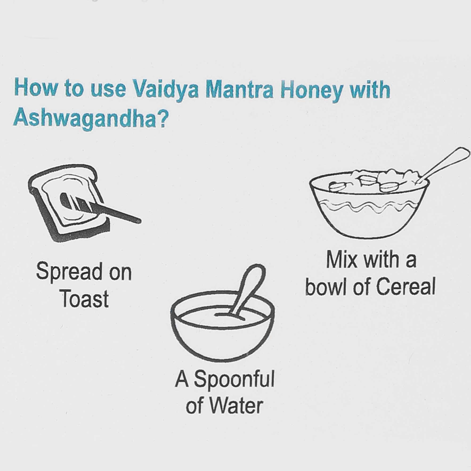 Vaidyamantra Special Ayurvedic Immunity Kit - Honey With Ashwagandha ,Vitamin C & Immunity Juice