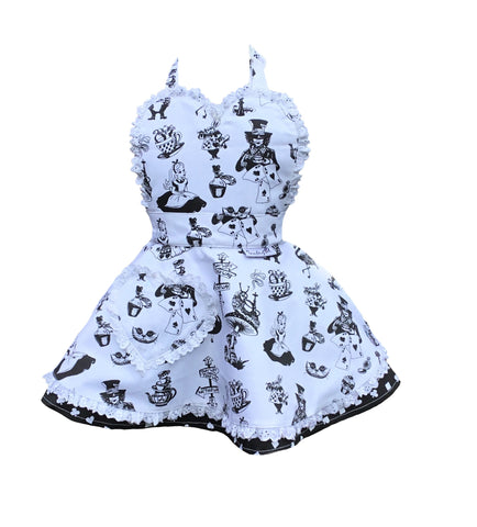 Little Miss SundayGirl Alice in Wonderland Children's Apron