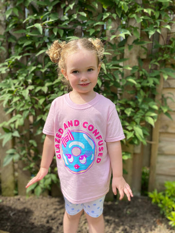 Kawaii Doughnut Children's T Shirt Molly Robbins Kawaii Collection Collab