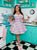 Pastel Rainbow Kawaii Retro Sweetheart Apron. Collaboration with Molly Robbins