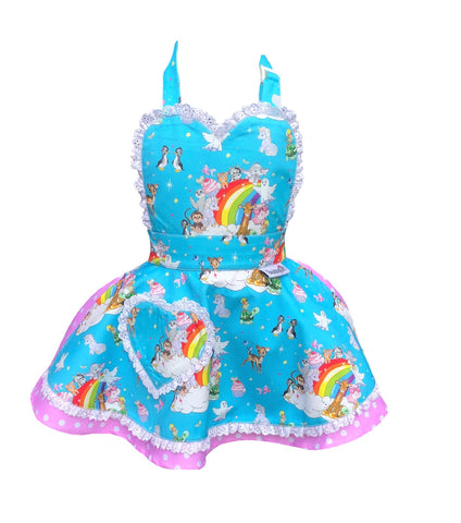 Molly Robbins Collaboration Cute Animal Children's Apron