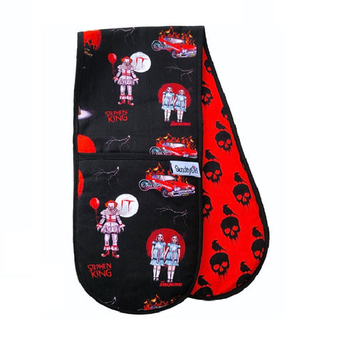 Stephen King of Horror Oven Gloves