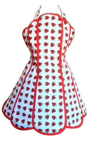 So Berry Sweet Womens Panel Apron
