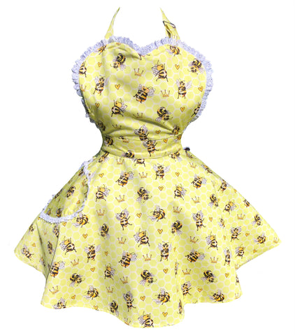 **Pre Order** Busy Beeing Fabulous Womens Sweetheart Apron