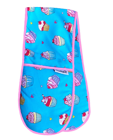 cupcakes oven gloves