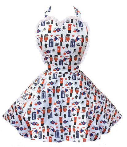 A Very British Baker Womens Sweetheart Apron