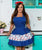 Nautical Mermaids and Anchors Women's Retro Rara Apron