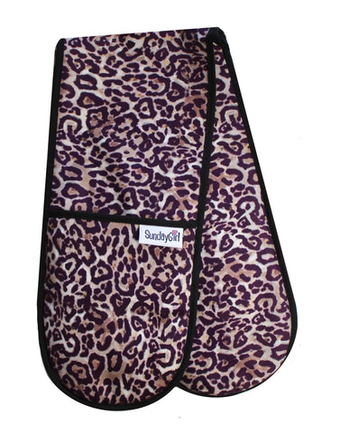 Leopard Oven Gloves. Animal Print Oven Gloves
