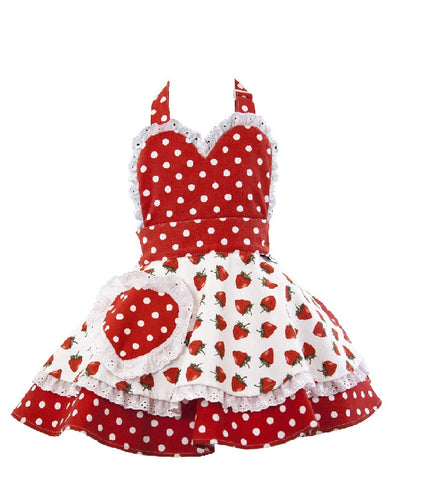 Little Miss SundayGirl So Berry Sweet Children's Apron