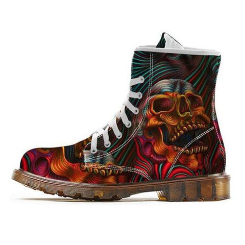 Bottines Multicolore | Crâne Nation