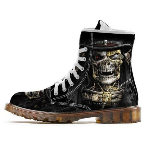 Bottines Steampunk | Crâne Nation