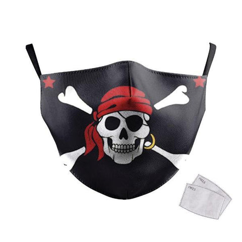 Masque de Protection Pirate | Crâne Nation