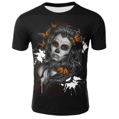 T-shirt Catrina Mexicaine | Crâne Nation
