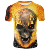 T-shirt Crâne Ghost Rider | Crâne Nation
