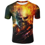 T-shirt Ghost Rider | Crâne Nation