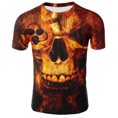T-shirt Skull des Enfers | Crâne Nation