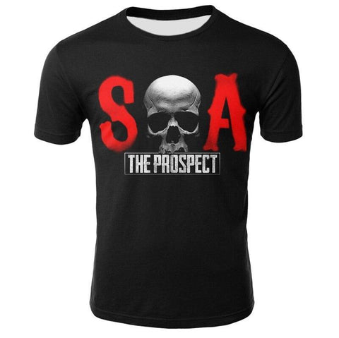 Tee Shirt Sons of Anarchy Homme | Crâne Nation