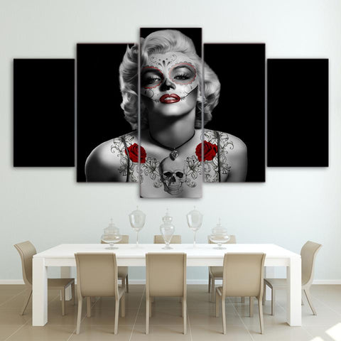 Marilyn Monroe Portrait | Crâne Nation