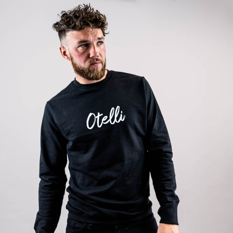Otelli Specialé Black/White Jumper Sweatshirt