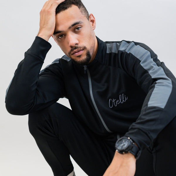 Otelli Original Black/Gunmetal Grey Tracksuit