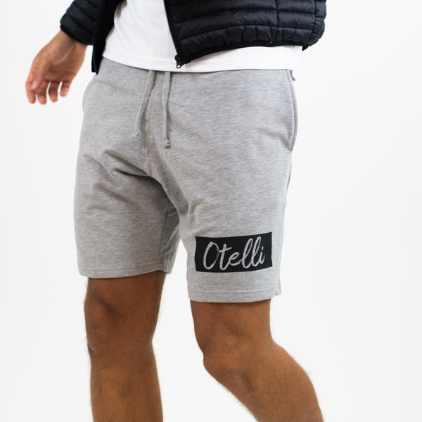 Otelli Premium Grey/Black Jog Shorts