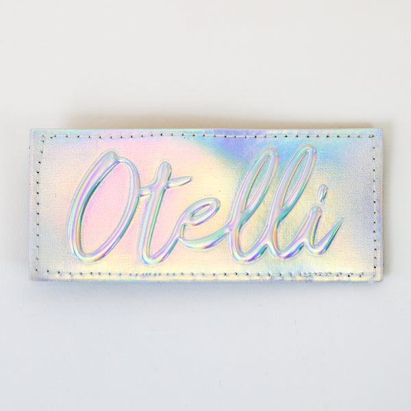 Otelli Custom Iridescent Badge