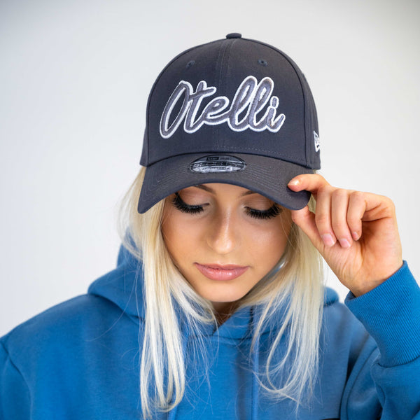Otelli New Era Graphite/White Strapback Baseball Hat