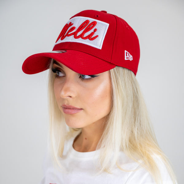 Otelli New Era Scarlet/White Strapback Baseball Hat