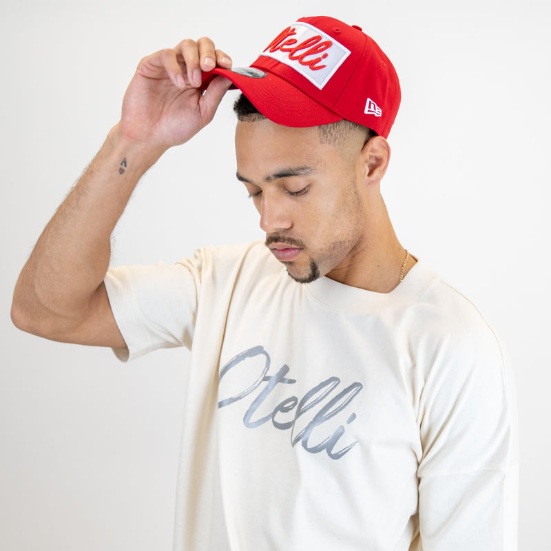 Otelli Drop Sleeve Cream/Reflective Logo T-Shirt