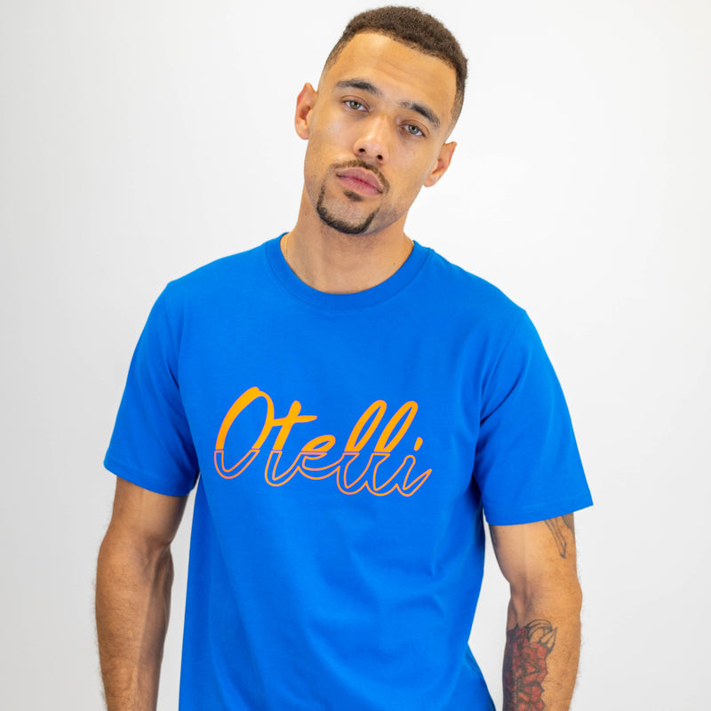 Otelli Distinct Blue/Orange T-Shirt