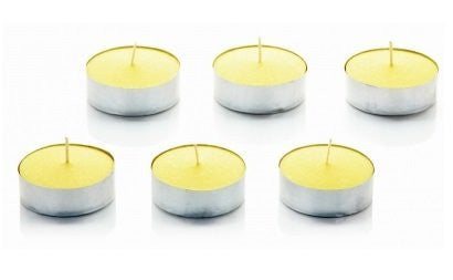 6 x Citronella T-Lights