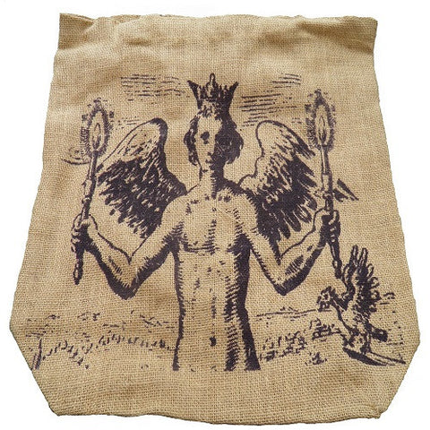 Jute Student Eco Bag Angel