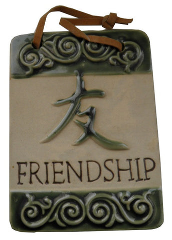 Hanging Plaque Friendship Design