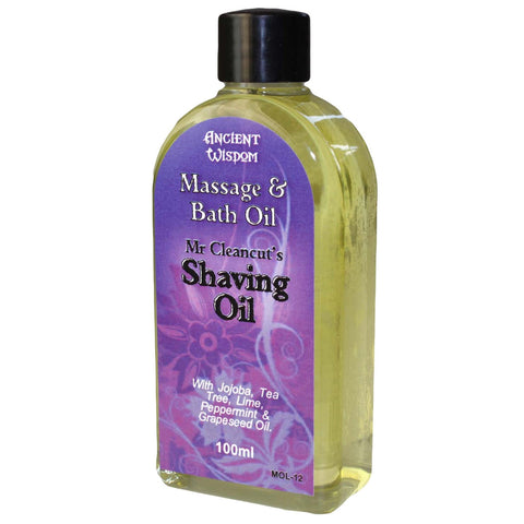 Massage and Bath Oil Mr Cleancut's Shaving Oil Blend